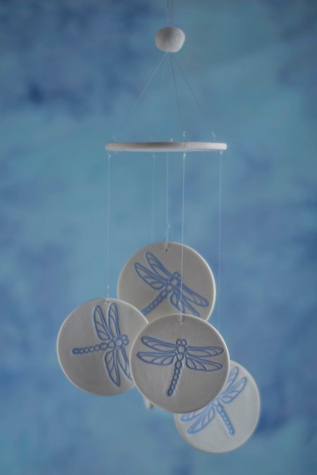dragonfly wind chime favor